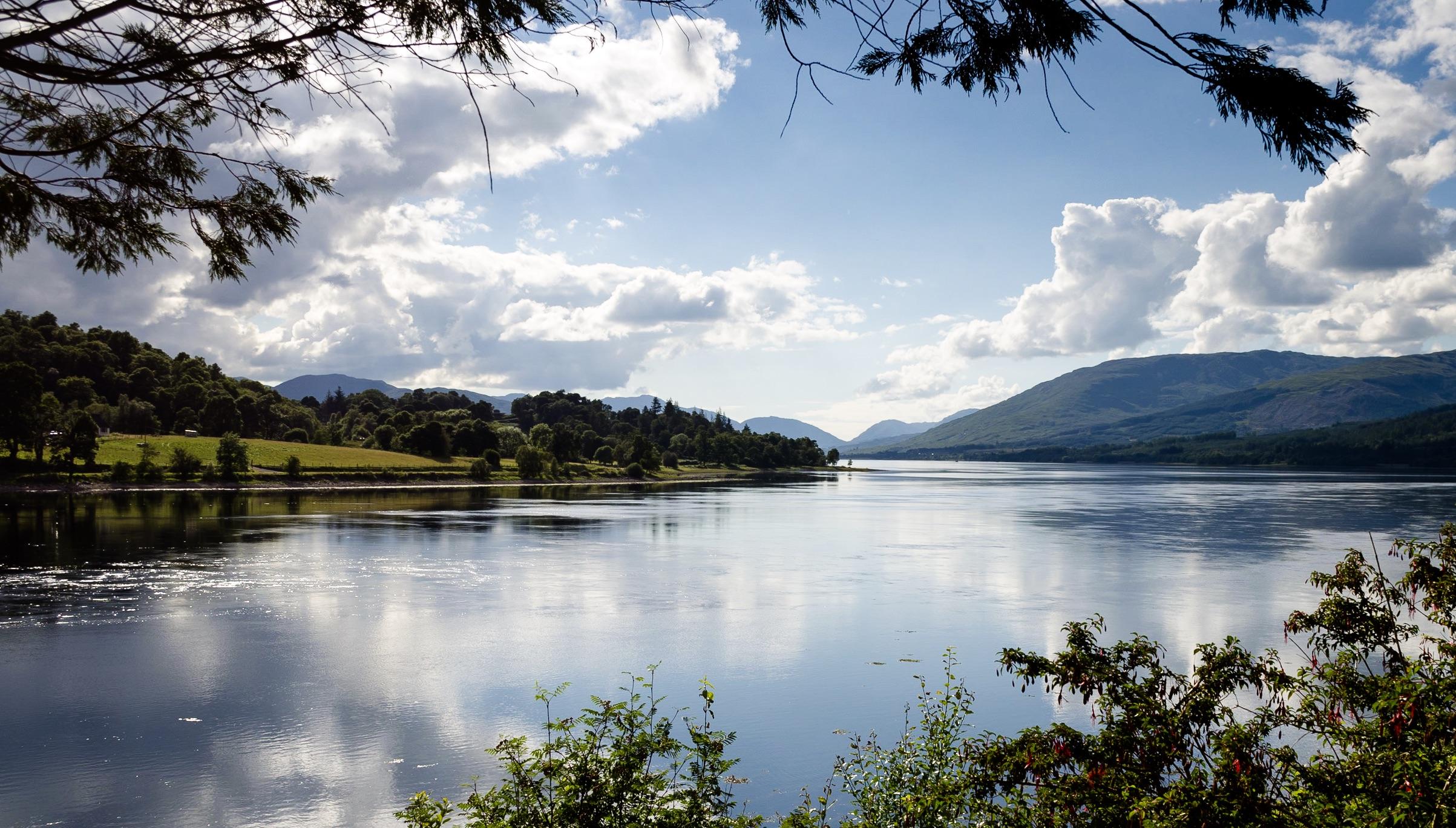 Loch Eil Picture Postcard