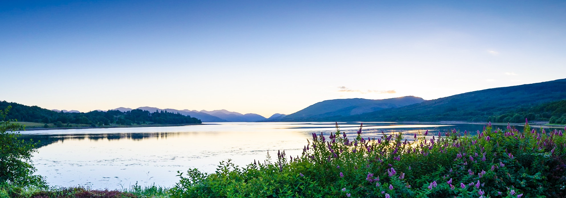 Loch Eil at Dusk