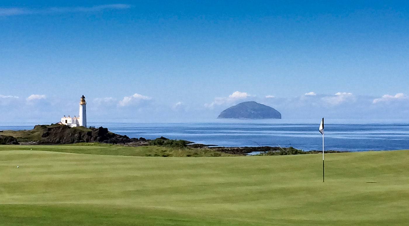 Turnberry over to Ailsa Craig