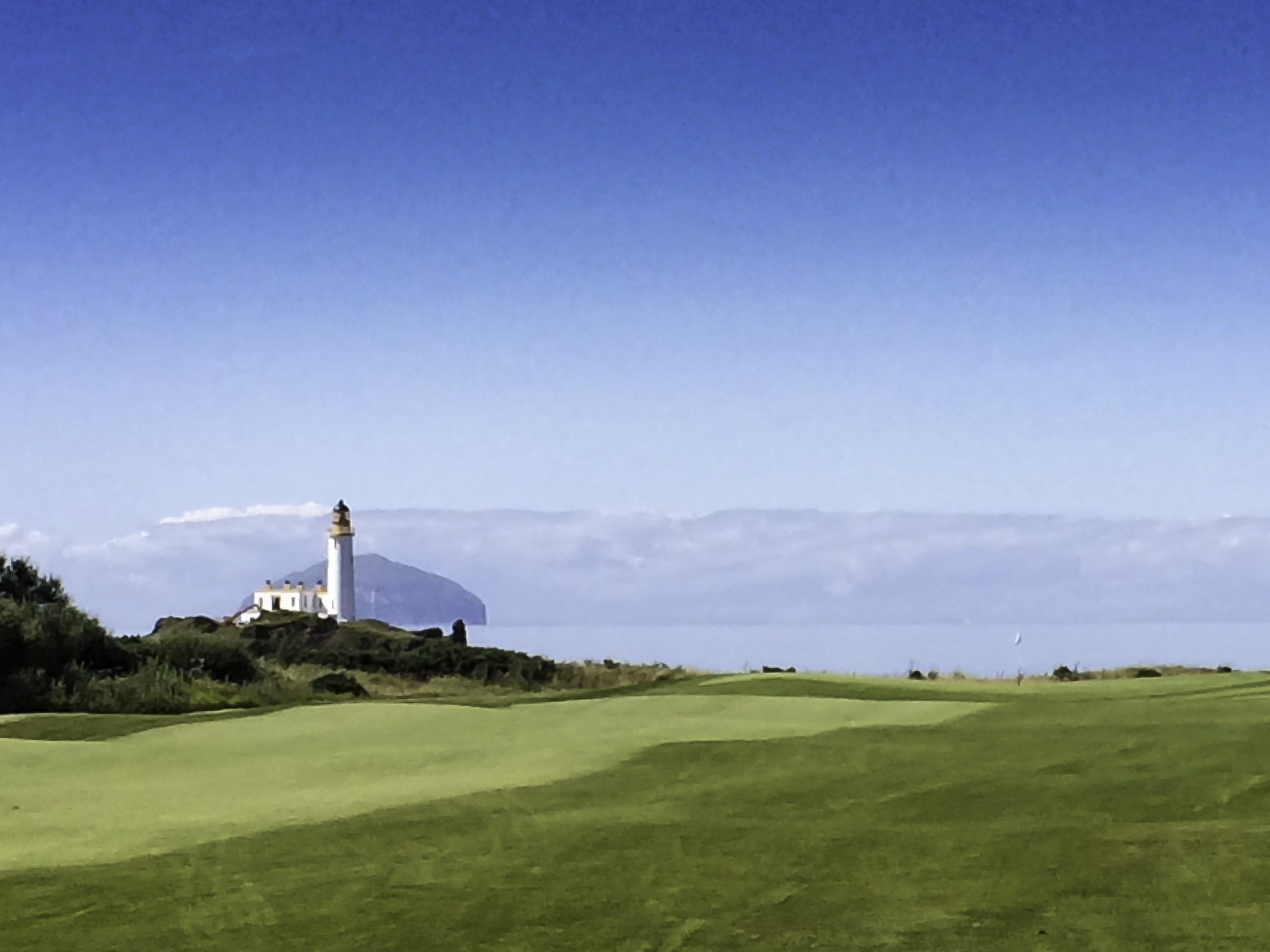 Turnberry Lighthouse over to Ailsa Craig